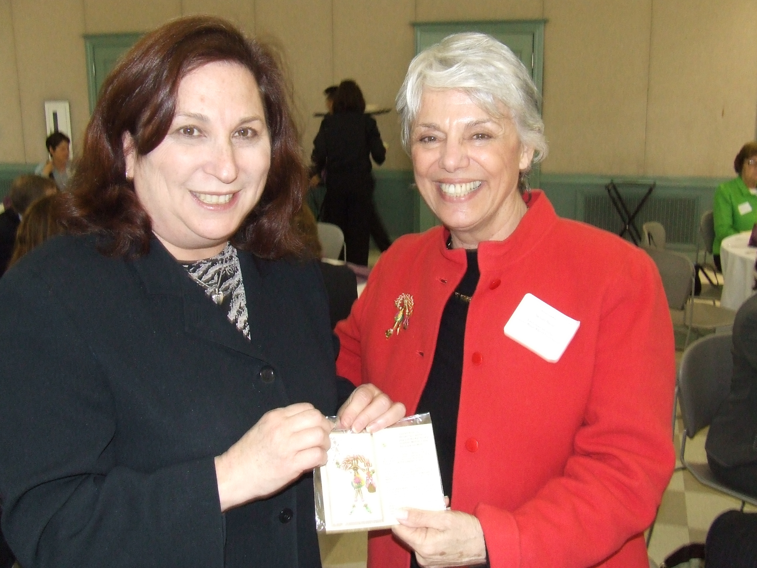 2009 DCA Commissioner Susan Bass Levin with LRAF Founder Susan Rose