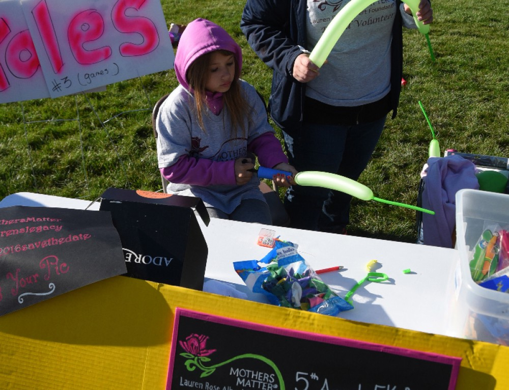 Mothers Matter 5K Games Table