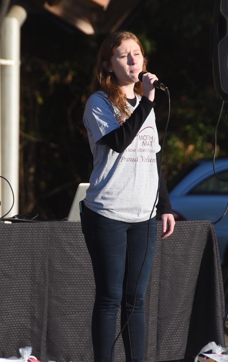 Bridget Costello Sings the National Anthem