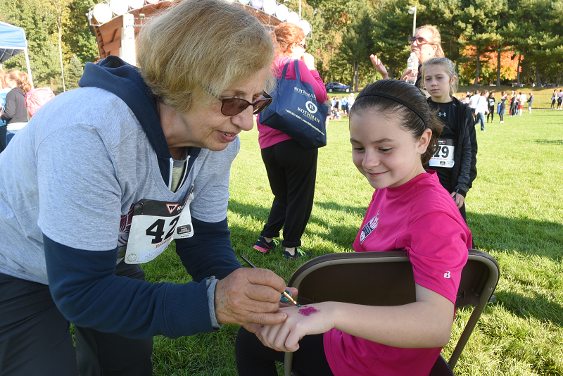 Face & Hand Painting at the 2016 Mothers Matter 5K