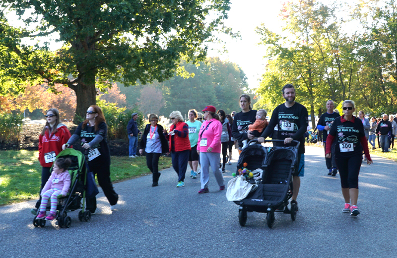 Family fun at the 2016 Mothers Matter 5K