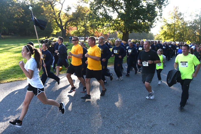 Participants Starting 6th Annual 5K Race