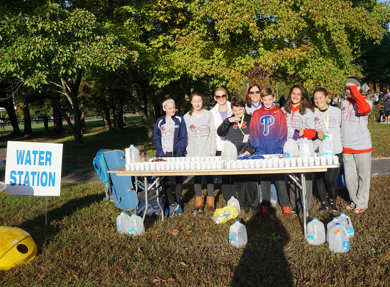 Water Station Before The Run