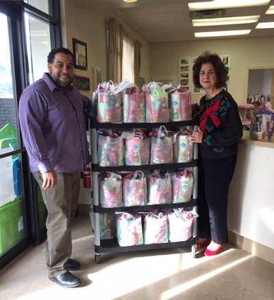 Mothers Matter Gift Bag Delivery - Loida Child Development Centers