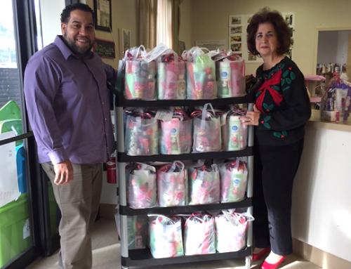 Dec. 2016 Gift Bag Deliveries to Loida Child Development Centers