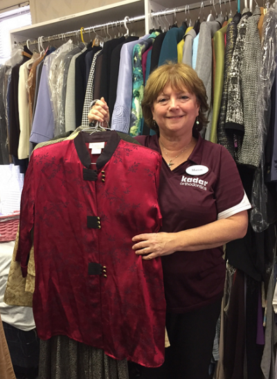 Marion from Kadar Orthodontics - Suited for Work Donation