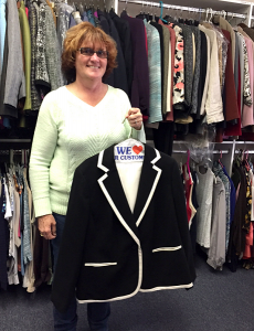 Shirley Schiavone Suited for Work Donation