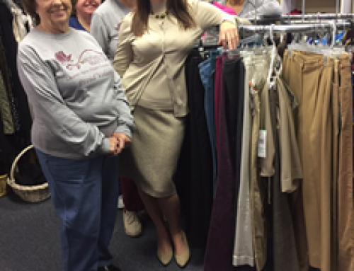 Jan. 2017 Visit to the Suited for Work Clothes Closet