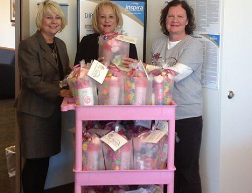 Mothers Matter Comfort Gift Bags for Inspira Hospital
