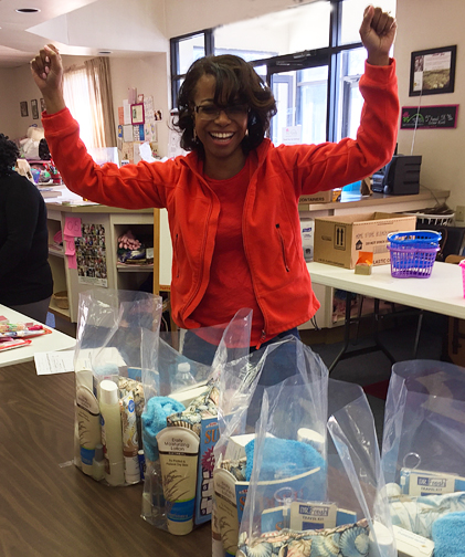 2017 MLK Day of Service at Mothers Matter - #3