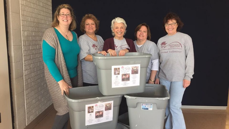 Mothers Matter Collection Drive Kick-Off at Rowan College at Gloucester County