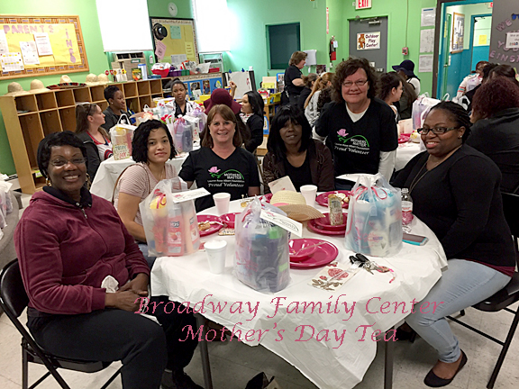 Broadway Family Ctr. Mother's Day Tea