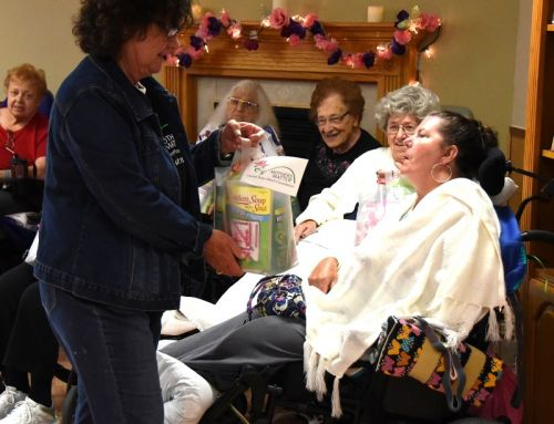 Mother's Day Visit to Kennedy Healthcare Center