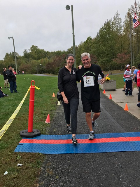 George and Kristen 2017 5k