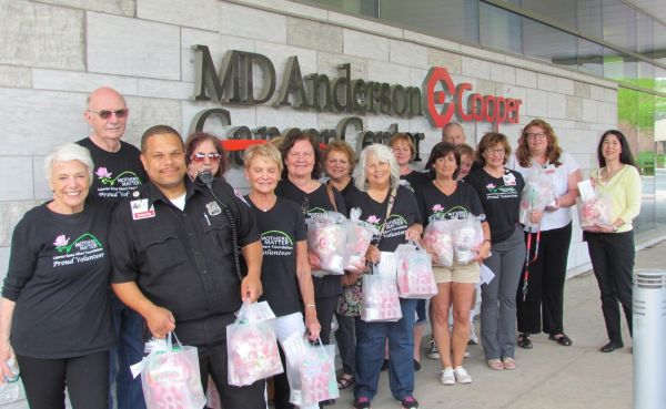 MD Anderson Mother's Day Deliveries 2018