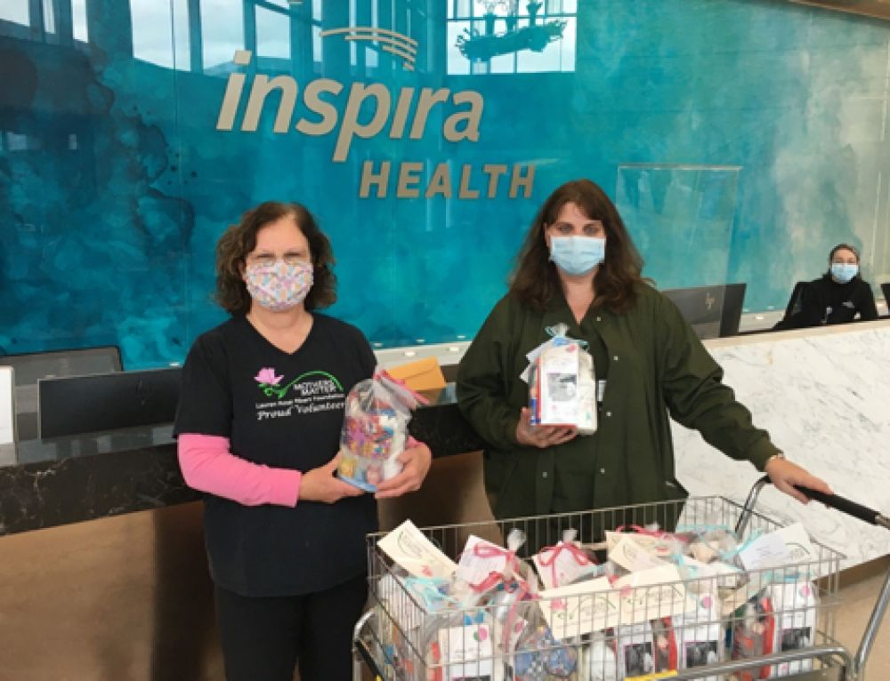 Special Delivery for Inspira-Mullica Hill Respiratory Therapists