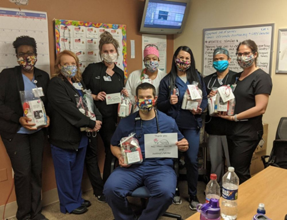 Thank You to Mothers Matter from Virtua Respiratory Therapists